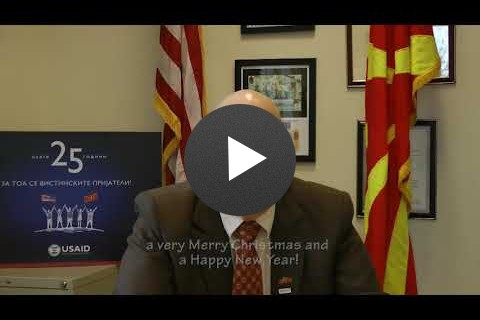 A Message from David Atteberry, Country Representative USAID Macedonia
