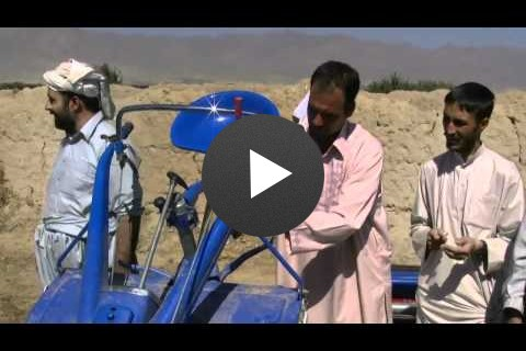 Farmers Benefit Through Mechanization