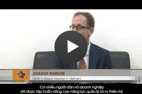 USAID Mission Director Joakim Parker Talks about Disaster Risk Management Assistance