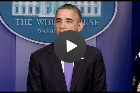 President Obama Speaks on Typhoon Haiyan