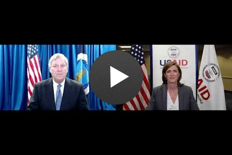 Administrator Power and Secretary of Agriculture Vilsack at the United Nations Food Security Summit