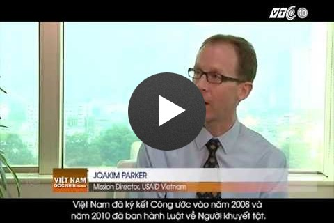 VTC10 interview with USAID Mission Director about USAID disabilities assistance