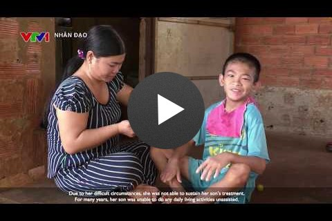 TV Report on USAID's Support to Persons with Disabilities in Vietnam