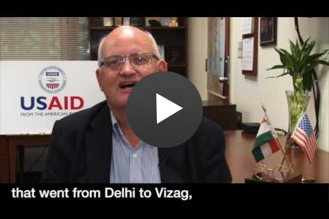 USAID Mission Director to India on Swachh Bharat Mission.