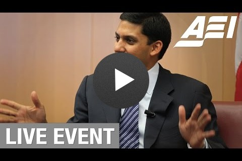 American leadership and global development: A conversation with USAID Administrator Rajiv Shah