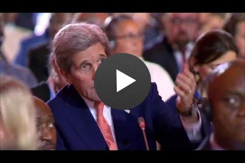 Secretary Kerry Speaks at COP21 Plenary in Paris