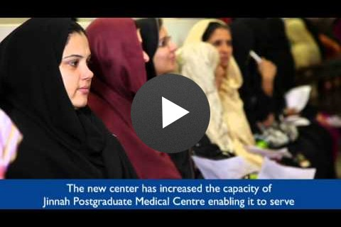 USAID's Commitment to the Mothers and Children of Pakistan - Jinnah Postgraduate Medical Center