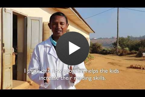 Going Beyond A to Z - Helping Kids Learn to Read in Madagascar