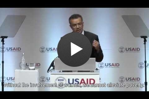 Frontiers in Development 2014 Speaker Highlights - Tedros Adhanom Ghebreyesus