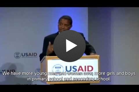 Frontiers in Development 201 Speaker Highlights - H.E. Jakaya Kikwete
