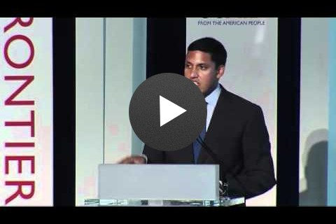 Rajiv Shah at Frontiers in Development