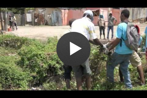 St. Patrick's Rangers - CRS disaster risk reduction project in Jamaica