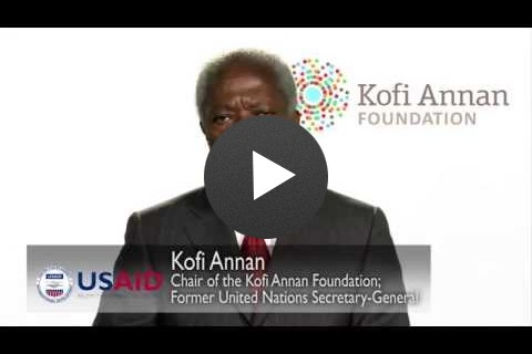 Kofi Annan: Frontiers in Development Message