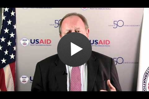 Allan Reed, USAID's Mission Director in Bosnia