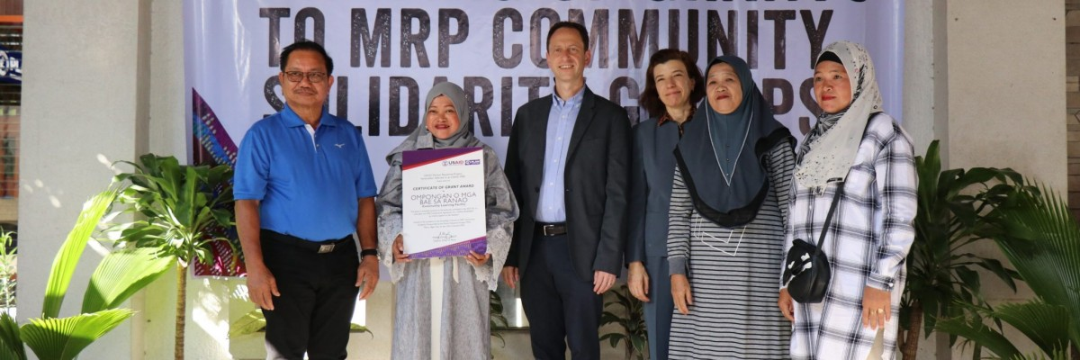 U.S. Government Awards Learning Facility Grants to Marawi's Displaced Communities