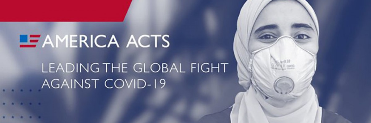 Scholarship recipient Dareen is a health worker fighting COVID-19 in Egypt
