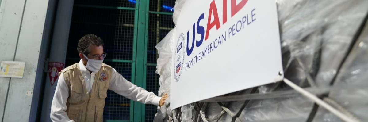 The U.S. Government, through USAID, provided ventilators to Indonesia to Battle COVID-19.