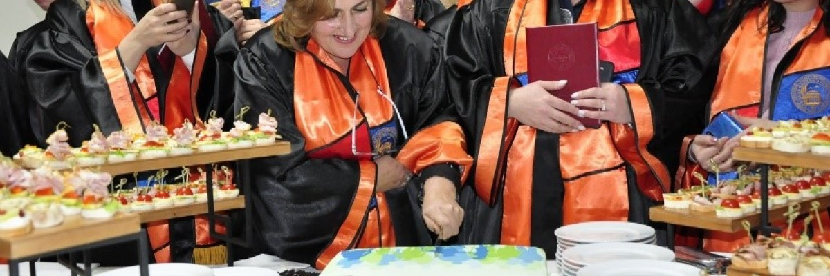 Armenian social workers graduate from a certification program implemented as part of USAID's Community Level Access to Social Services project