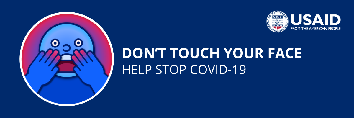 You are your best defence against #COVID19! Be sure not to touch your face to ensure you aren't transmitting germs to your eyes, nose, or mouth.