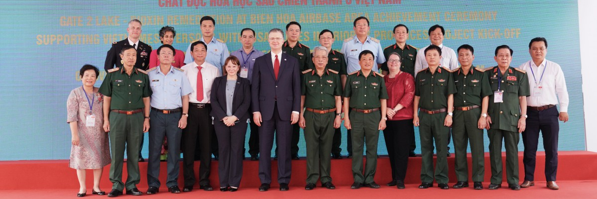 The United States and Vietnam Celebrate Progress on Partnership Addressing War Legacies