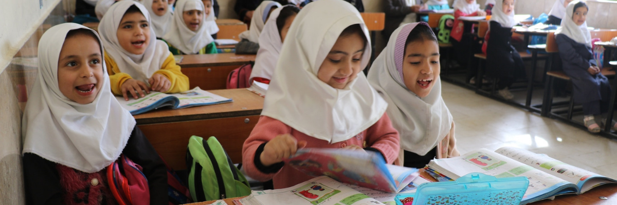 USAID education strategy focuses on addressing urgent needs and helping to build a national educational system that can sustain itself in the long term.