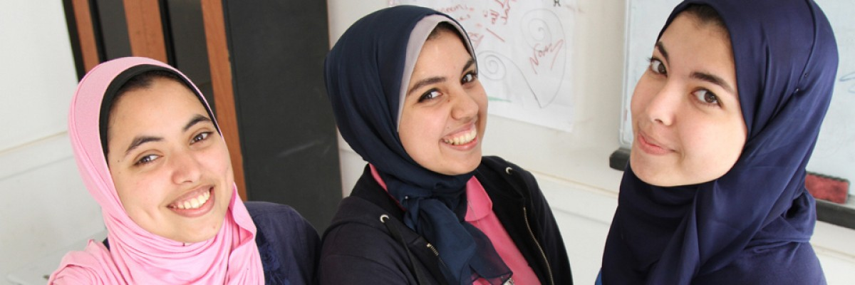Students at the Maadi STEM School for Girls are among the smartest teens in the world.