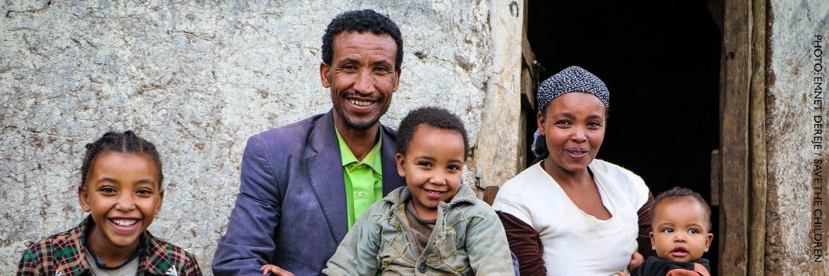 Image of Ethiopian family
