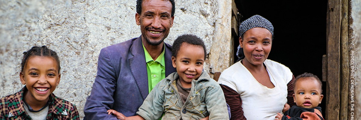 Image of family in Ethiopia