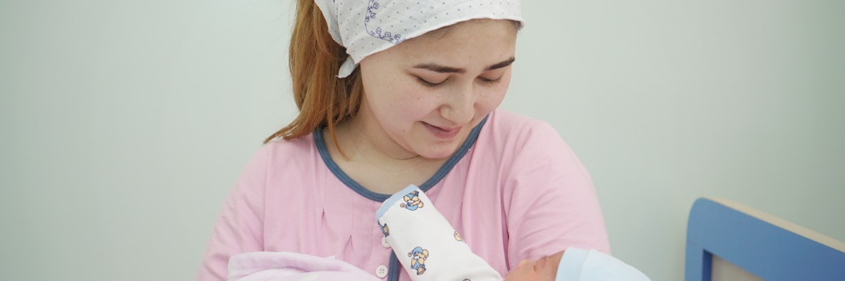 USAID in Tajikistan partners with the government to improve nutrition and prevent morbidity and mortality of mothers and children under two.