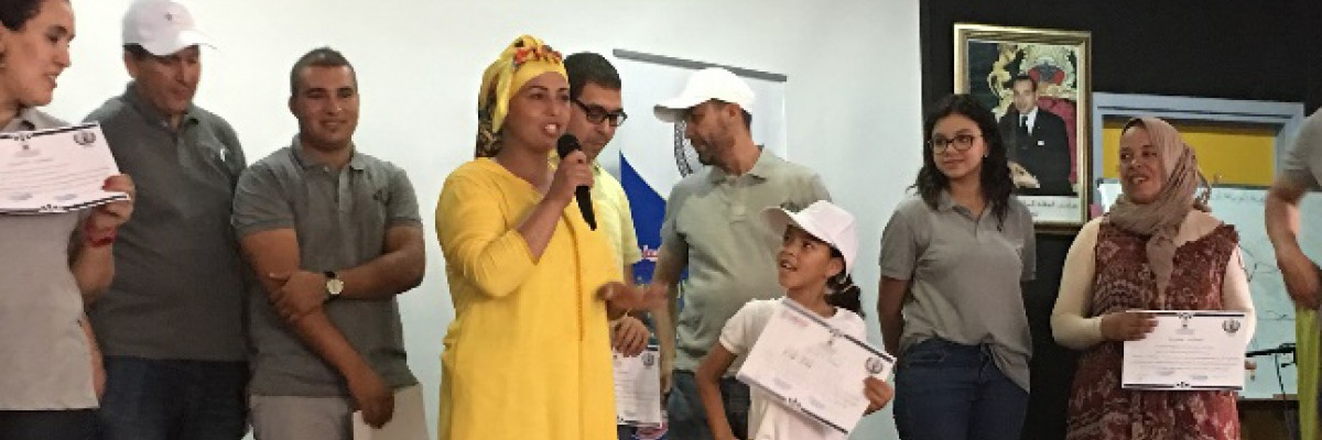 Young Readers in Morocco Sharpen their Skills in the Summer
