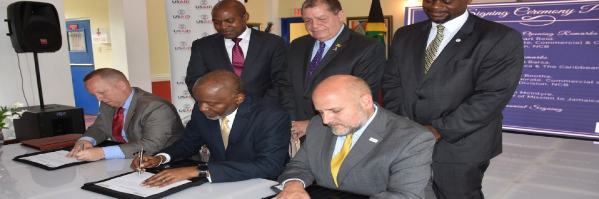 USAID and NCB Jamaica partnered with the first-ever regional Development Credit Authority