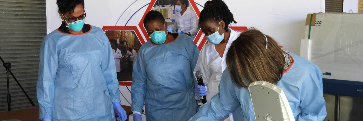 Namibia receives laboratory equipment from USAID