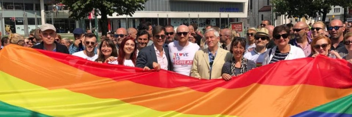 USAID stands at the forefront of the fight for full and equal rights for LGBTI people in Bosnia.