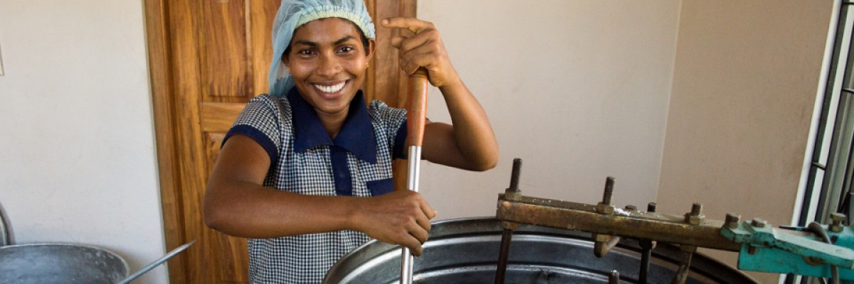 Supporting SMEs to start and grow in rural  Sri Lanka. Credit: USAID/Biz+