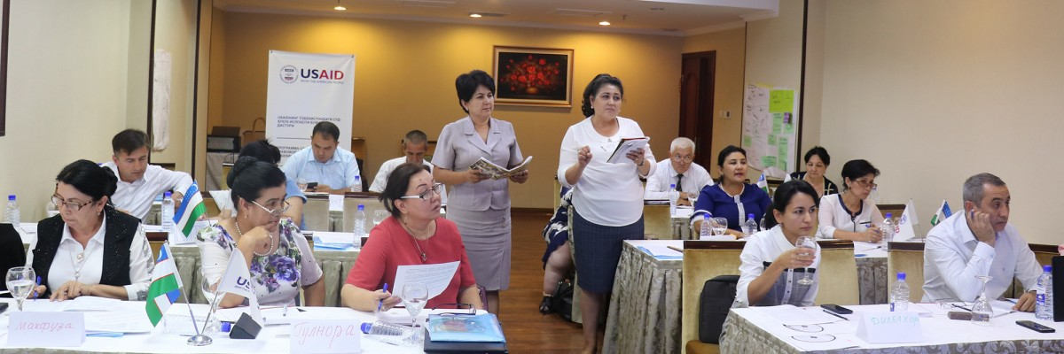 USAID supports civil society engagement in Uzbekistan