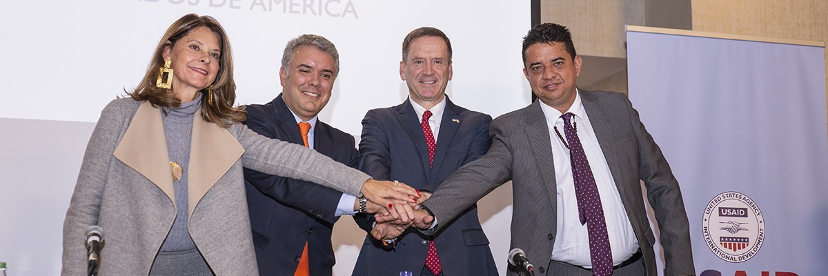 USAID Administrator Mark Green Signs Amendment to Colombia Bilateral Assistance Agreement