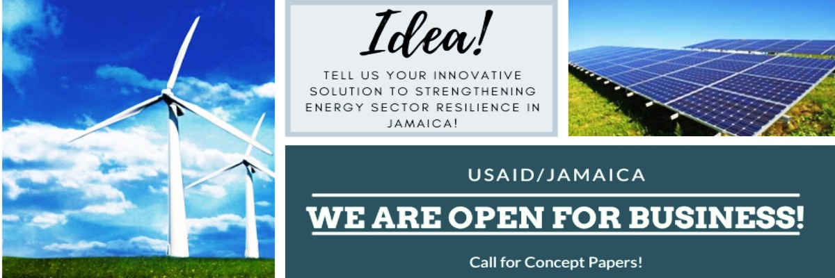 Call for concept papers - Strengthening Energy Sector Resilience in Jamaica