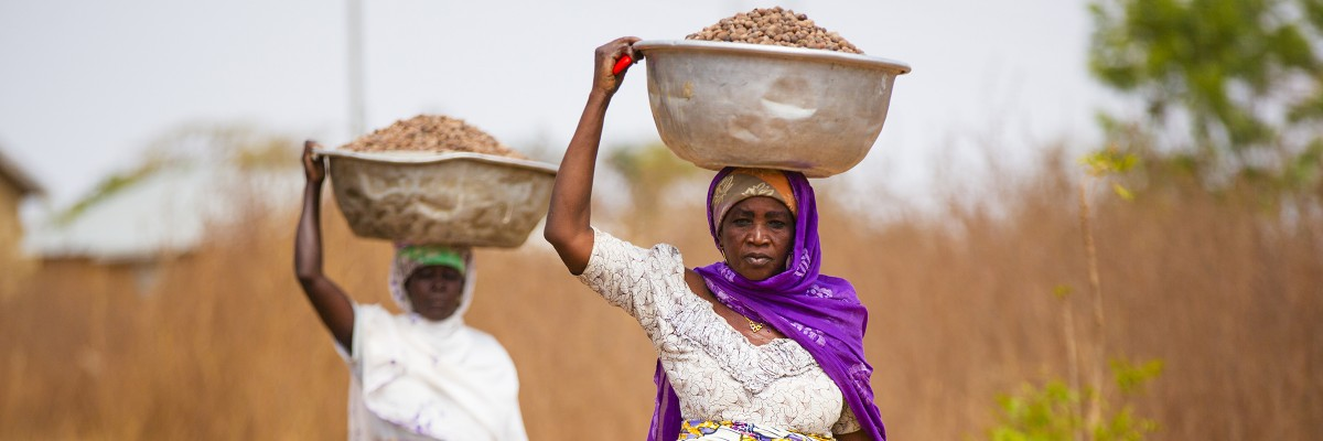USAID and the Global Shea Alliance partner to connect West Africa village women to the global marketplace. Photo: Douglas Gritzmacher/USAID. Click to view Extended Country Development & Cooperation Strategy - December 2019