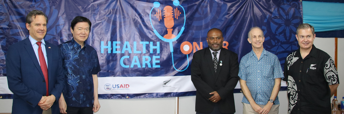 U.S. Government Supports Health Care on Air for Pacific Islands COVID-19 Response