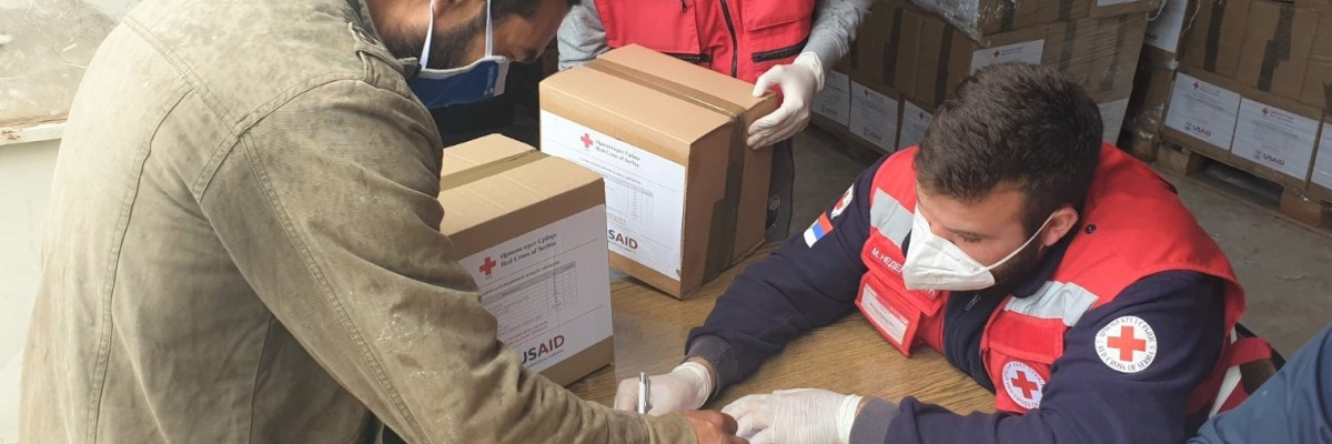 USAID Helps Serbian Red Cross Weather the Pandemic
