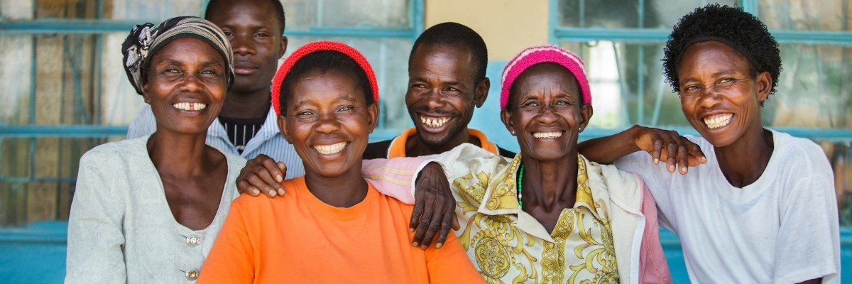 USAID is investing in Zambia's self-reliance through programs that encourage increased community involvement in local services, including maternal and child health. Photo: Members of a community Safe Mothers Action Group.