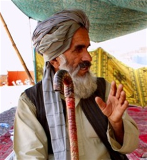 Ghulam Farooq Ahmadzada is the head of a cooperative of 150 farmers who recently benefitted from an AVIPA Plus grant.