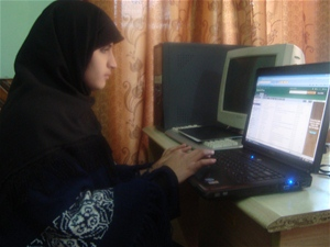 'This resource center is near the university and I can easily access it to continue my studies and research'