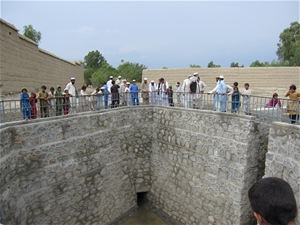AFTER The Baghcha karez spring was excavated to a depth of six meters and 730 reinforced cement concrete