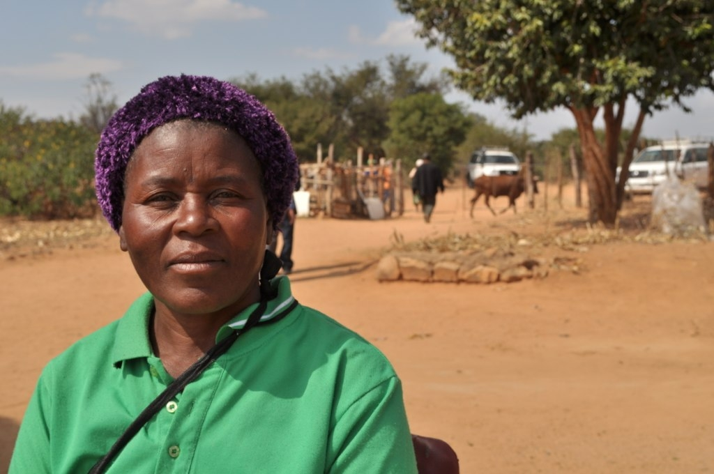 Photo of Bellah Mabhungo, beneficiary