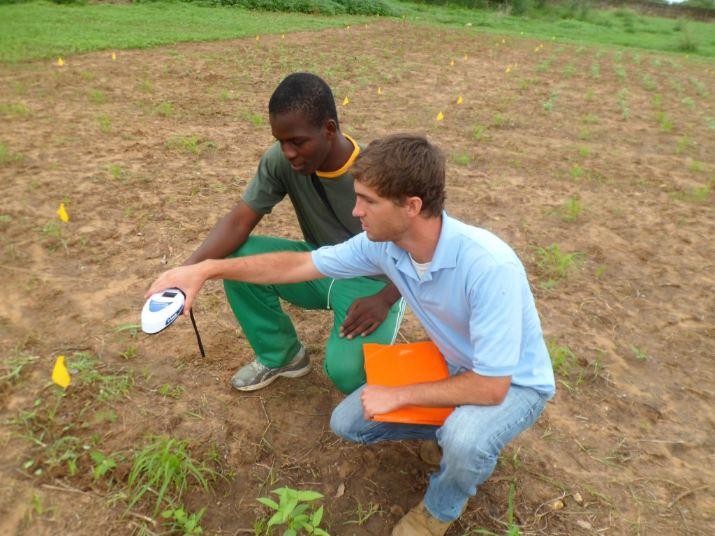 Student researchers work hand in Hand for Food Security in Senegal