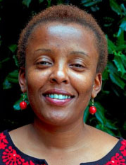 """""""Dr. Nduku Kilonzo, manager of an NGO for women's health and HIV services in Kenya, has been a lifelong supporter for improving"""