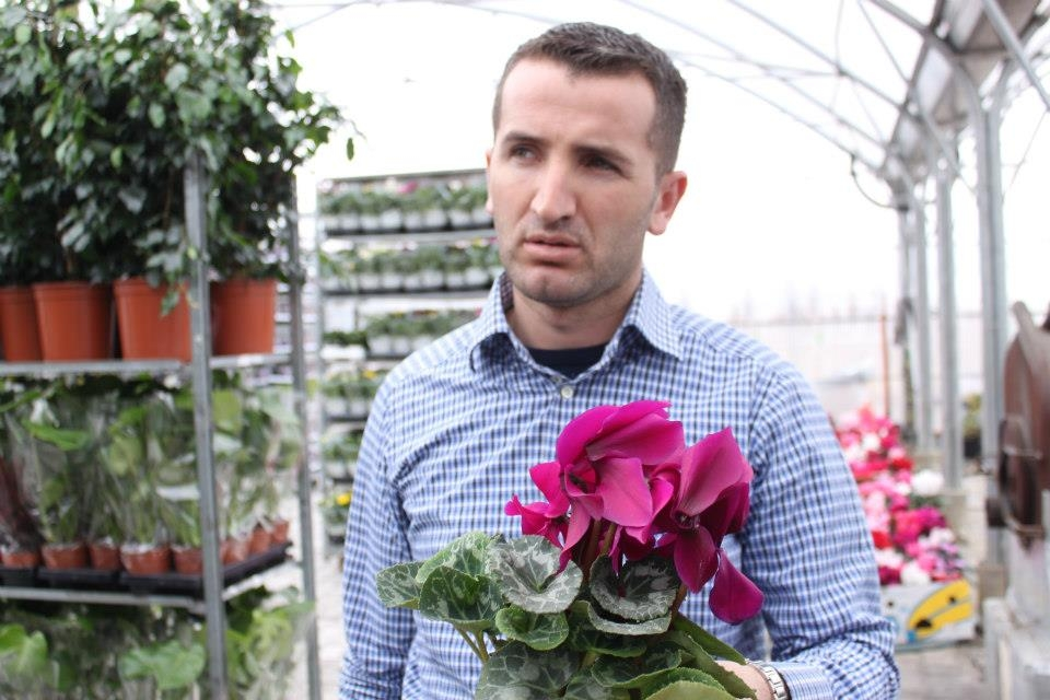 Pleurat Buçaj started his own nursery to export regionally