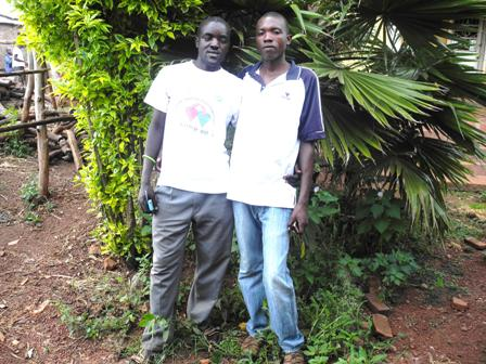 Ndayishimiye and Nteziryayo are now friends after overcoming a conflict over land.
