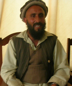 Muhammad Sarwar, a farmer who benefited from USAID-supported training.